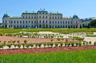 Schloss Belevedere, Wien, Österreich
