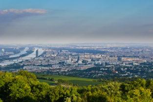Blick vom Kahlenberg, Wien, Österreich