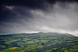 Gewitterwolken, Faial, Azoren, Portugal