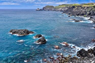 Nordküste von Sao Miguel, Azoren, Portugal