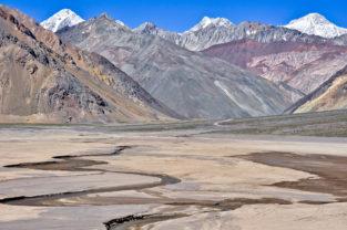Hochtal in den Anden, Chile
