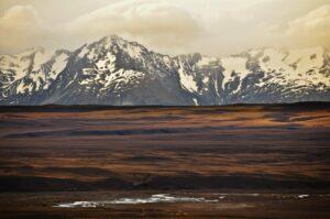 Der Berg ruft 20 | Steppe und schneebedeckte Berge in Otago, Southern Alps, Neuseeland