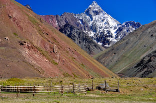 Estancia in den Anden, Chile