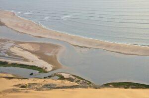 Lagunenlandschaft, Sandwich Harbour, Namibia