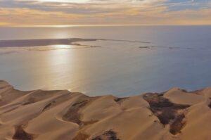 Lagune von Sandwich Harbour, Namibia