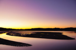 Halbinsel in der Tasman Sea, Paihia, Neuseeland