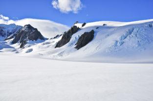 Mount Cook, höchster Berg Ozeaniens (3.754 m), Neuseeland