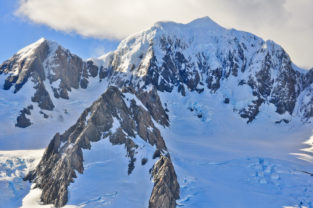 Mount Cook (Aoraki), Mackenzie-Distrikt, Canterbury, Südinsel, Neuseeland
