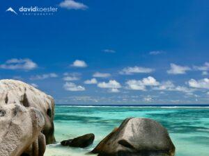 Seychellen Wallpaper 2 | 1024x768 | Strand Anse Source d´Argent, La Digue | Hintergrundbild Desktopbild Bildschirmhintergrund