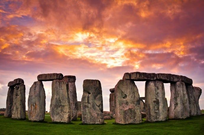 Stonehenge, Amesbury, England, Großbritannien