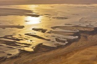 Wattlandschaft, Sandwich Bay, Namibia