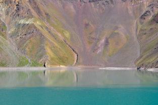 Gletschersee, Anden, Chile