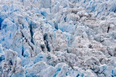 Eis am Fox Gletscher, Neuseeland