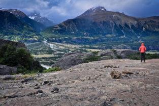 Berglandschaft nahe Coyhaique, Región Aysén, Patagonien, Chile