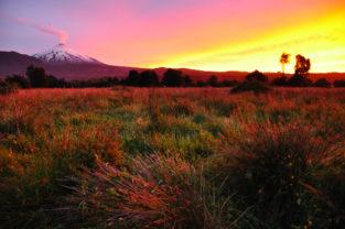 Vulkan Villarica, Pucon, Patagonien, Región de la Auracania, Chile