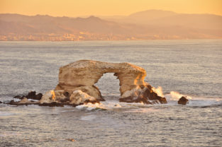 Felsformation La Portada am Pazifik, Antofagasta, Chile