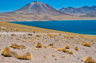 Laguna Miscanti (4.120 m), Los Flamencos Nationalpark, Región Antofagasta, Chile