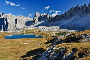 Zinnenseen, Dolomiten, Südtirol, Italien