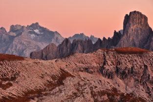 Cadini-Gruppe und Paternsattel, Sextner Dolomiten, Belluno