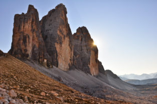 Drei Zinnen (Tre Cime di Lavaredo), Südtirol,Dolomiten, Italien