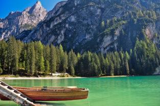 Pragser Wildsee, Südtirol, Dolomiten, Italien