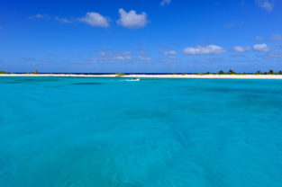 Tropische Trauminsel Sandy Island, Grenadinen, Grenada, Karibik