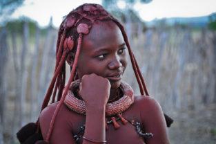 Himba-Mädchen, Namibia