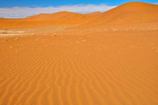 Sanddünen im Sossusvlei, Namib-Naukluft-Nationalpark, Namibia