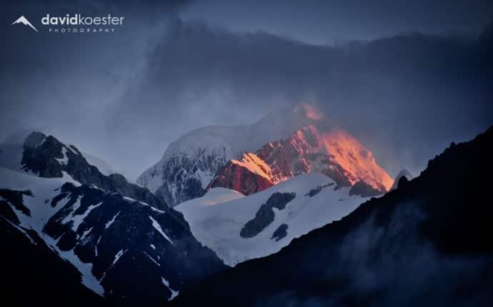 Neuseeland Wallpaper 1   Mount Cook, Aoraki, Berge, Sonnenuntergang, Gebirge, Winter, Hintergrundbild, Desktopbild, Bildschirmhintergrund   1920×1080