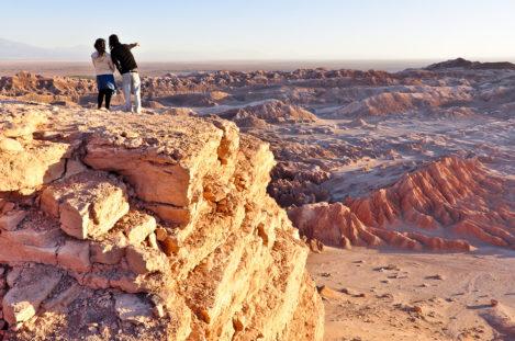 Valle de la Luna, Atacama-Wüste, Región de Antofagasta, Chile