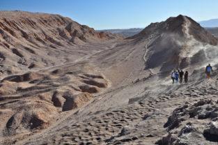 Trekking im Valle de la Luna, Atacama-Wüste, Chile