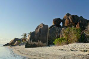 Strand Anse Source d´Argent, La Digue, Seychellen
