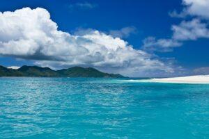 Strand auf Cousin, Seychellen