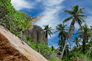 Robinson Crusoe-Feeling auf Felicité, Seychellen