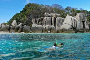 Schnorcheln vor Coco Island, Seychellen