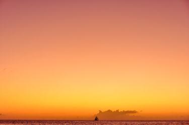 Segelschiff vor St. Georges, Grenada, Karibik