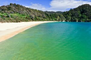 Totaranui Beach, Abel Tasman National Park, Neuseeland