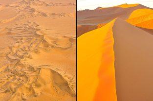 Sanddünen im Sossusvlei, Namibia