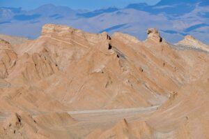 Gesteinsformationen in der Atacama-Wüste, Chile