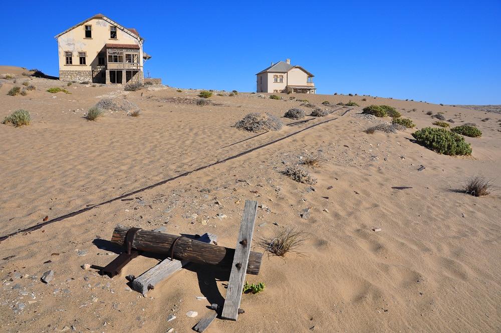 Verlassene Diamantenmine Kolmannskoop, Namibia
