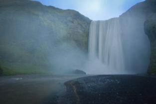 Wasserfall Skógafoss, Island