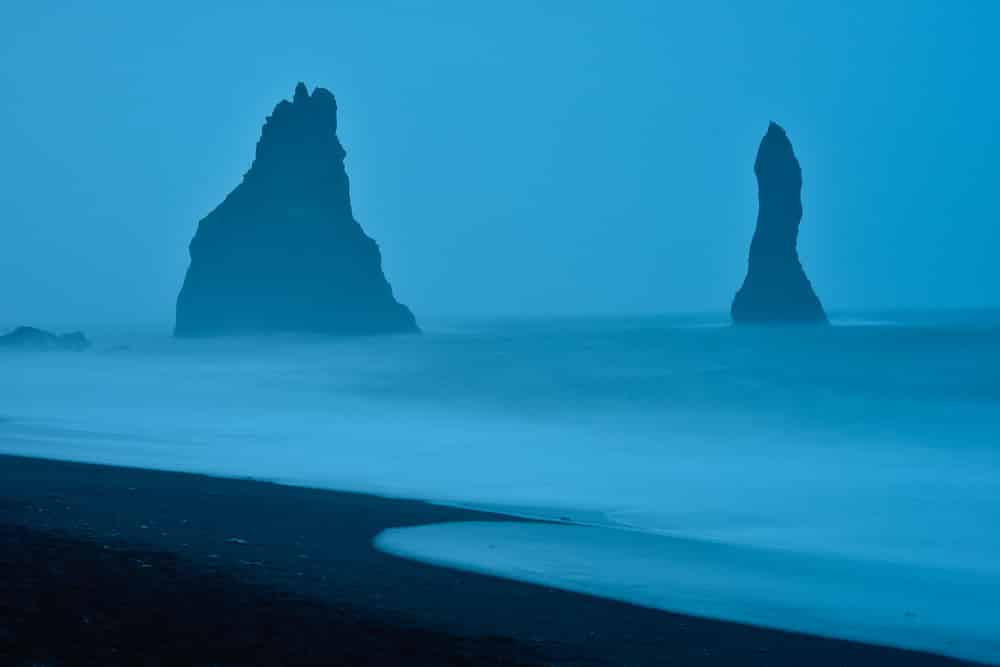 Dyrhólaey, Strand bei Vík í Mýrdal, Island