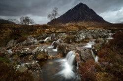 Buachaille Etive Mòr, Highlands, Schottland