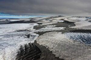 Gletscherlandschaft des Vatnajökull, Island