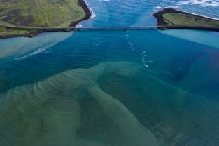 Brücke an der Südküste, Island