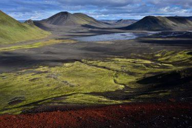 Berglandschaft Fjallabak, Island