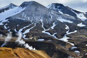Vulkanische Berglandschaft, Kerlingarfjöll, Island