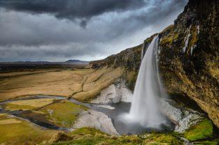 Wasserfall Seljalandsfoss, Island