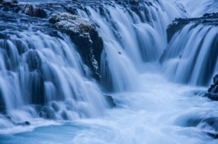 Wasserfall Bruarfoss, Island