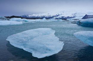 Eissee und Gletscher, Island
